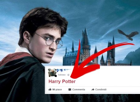 "Scrivi "" Harry Potter "" su Facebook e guarda cosa accade!"
