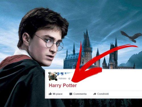 """Scrivi """" Harry Potter """" su Facebook e guarda cosa accade!"""