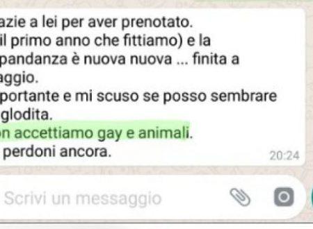 """Coppia omosessuale respinta da struttura turistica a Tropea, in Calabria. """"NON ACCETTIAMO GAY E CANI"""""""