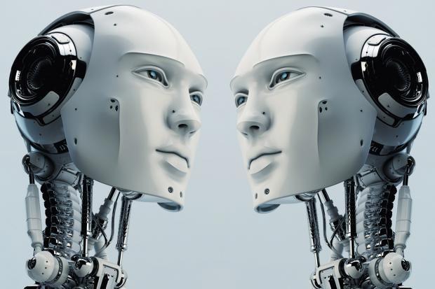 robot iniziano a parlare