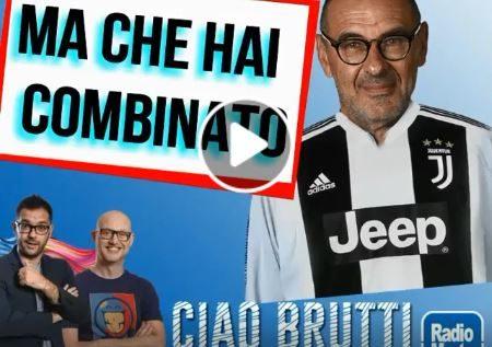 """""""Sarri alla Juve"""" e sul web la parodia è subito virale!"""